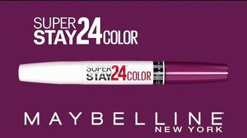 Maybelline New York SuperStay 24 Color TV Spot, 'Supera las pruebas de la vida' [Spanish]