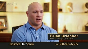 Restore Hair TV Spot, 'Shocked' Featuring Brian Urlacher
