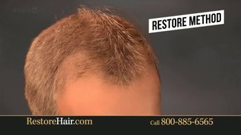 Restore Hair TV Spot, 'Shocked' Featuring Brian Urlacher - Thumbnail 4