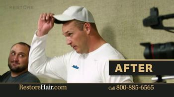 Restore Hair TV Spot, 'Shocked' Featuring Brian Urlacher - Thumbnail 6