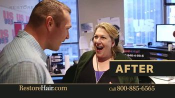 Restore Hair TV Spot, 'Shocked' Featuring Brian Urlacher - Thumbnail 7
