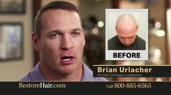 Restore Hair TV Spot, 'Shocked' Featuring Brian Urlacher - Thumbnail 8