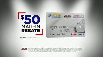 Tire Kingdom Big Brands Bonus Month TV Spot, 'Continental Tires Rebate' - Thumbnail 8