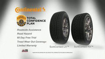Tire Kingdom Big Brands Bonus Month TV Spot, 'Continental Tires Rebate' - Thumbnail 6