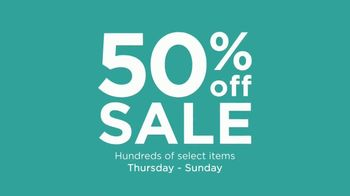 50 Percent Off Sale: Tops, Sleepwear and Bedding