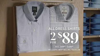 JoS. A. Bank TV Spot, 'Men's Suits and Dress Shirts' - Thumbnail 7
