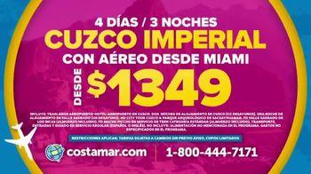 Costamar Travel TV Spot, 'Cartagena de Indias, Cuzco Imperial y Perú' [Spanish] - Thumbnail 4