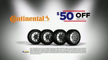 National Tire & Battery Big Brands Bonus Month TV Spot, 'Continental Tires and Oil Change'