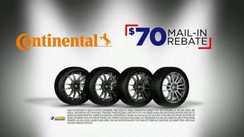 National Tire & Battery Big Brands Bonus Month TV Spot, 'Continental Tires and Oil Change' - Thumbnail 4