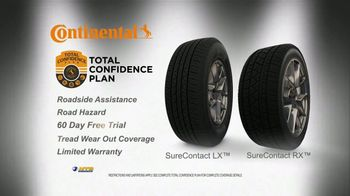 National Tire & Battery Big Brands Bonus Month TV Spot, 'Continental Tires and Oil Change' - Thumbnail 6