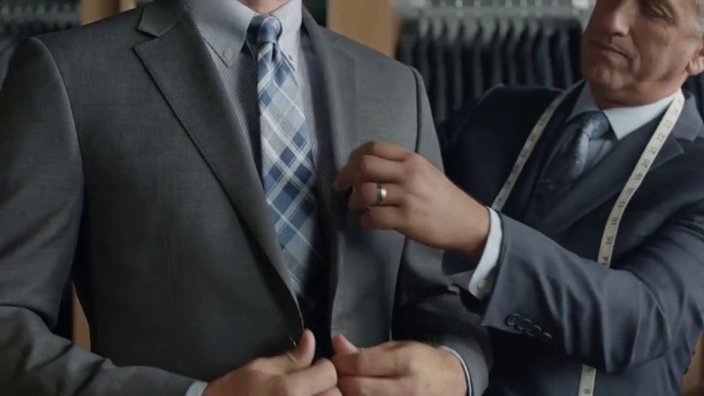 JoS. A. Bank Traveler Custom Suit TV Commercial, 'Selection to Stitch to Store'