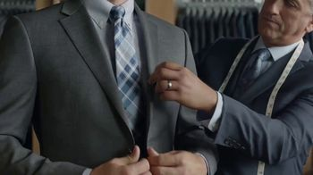 JoS. A. Bank Traveler Custom Suit TV Spot, 'Selection to Stitch to Store'