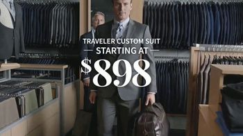 JoS. A. Bank Traveler Custom Suit TV Spot, 'Selection to Stitch to Store' - Thumbnail 9