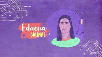 TECHNOLOchicas TV Spot, 'Edaena Salinas: ingeniera de software en Microsoft' [Spanish]