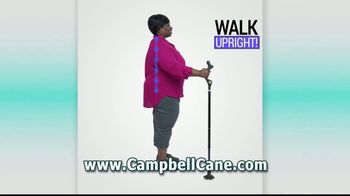 Campbell Posture Cane TV Spot, 'Upright and Secure' - Thumbnail 3