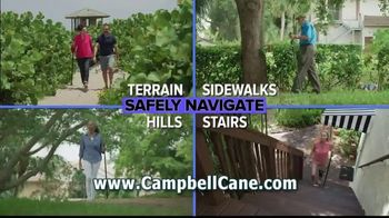 Campbell Posture Cane TV Spot, 'Upright and Secure' - Thumbnail 6