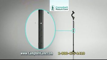 Campbell Posture Cane TV Spot, 'Upright and Secure' - Thumbnail 7