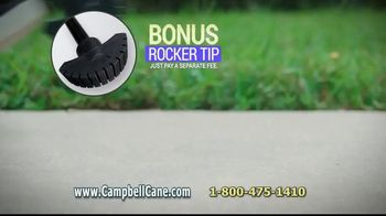 Campbell Posture Cane TV Spot, 'Upright and Secure' - Thumbnail 9