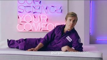 Purple Mattress TV Spot, 'Greatest Scientific Marvel Since John Stamos: Free Sheets'