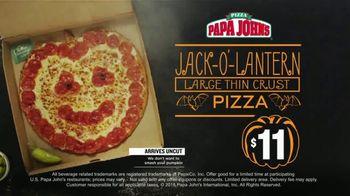 Papa John's Jack-O'-Lantern Pizza TV Spot, 'Halloween Party Offers' - Thumbnail 6