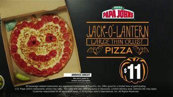 Papa John's Jack-O'-Lantern Pizza TV Spot, 'Halloween Party Offers' - Thumbnail 7