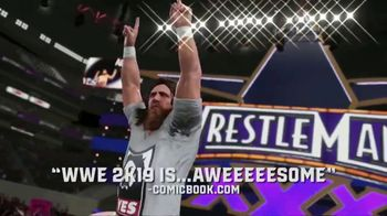 WWE 2K19 TV Spot, 'Accolades' - 146 commercial airings