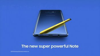 Samsung Galaxy Note9 TV Spot, 'All the Power You Need: Double Trade-in Value' - Thumbnail 9