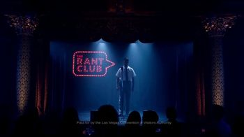 Las Vegas Convention and Visitors Authority TV Spot, 'The Rant Club: I Invited You' - Thumbnail 1