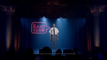 Las Vegas Convention and Visitors Authority TV Spot, 'The Rant Club: I Invited You' - Thumbnail 2