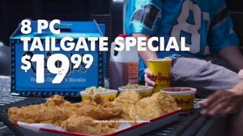 Bojangles' 8-Pc. Tailgate Special TV Spot, 'Carolina Panthers Big Bo Box' - Thumbnail 5