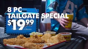 Bojangles' 8-Pc. Tailgate Special TV Spot, 'Carolina Panthers Big Bo Box' - Thumbnail 6