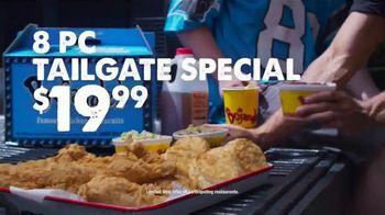Bojangles' 8-Pc. Tailgate Special TV Spot, 'Carolina Panthers Big Bo Box'