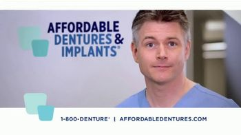 Affordable Dentures TV Spot, 'Get Your Smile Back'