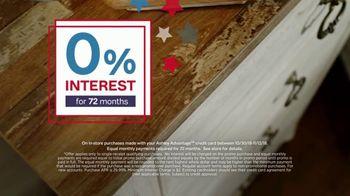 Ashley HomeStore Veterans Day Sale TV Spot, 'Beds & Tables' - Thumbnail 5