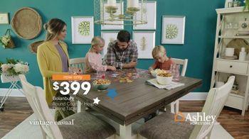 Ashley HomeStore Veterans Day Sale TV Spot, 'Beds & Tables' - Thumbnail 7