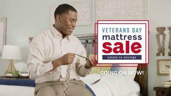 Ashley HomeStore Veterans Day Mattress Sale TV Spot, 'Queen Mattresses'
