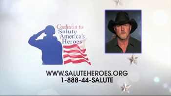 Coalition to Salute America's Heroes TV Spot, 'Bet on a Vet' Featuring Trace Adkins - Thumbnail 9