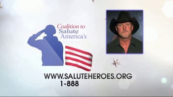 Coalition to Salute America's Heroes TV Spot, 'Bet on a Vet' Featuring Trace Adkins - Thumbnail 8