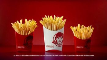 Wendy's $1 Fries TV Spot, 'Papitas a solo $1 dólar' [Spanish] - Thumbnail 7