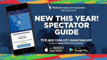 2018 TCS New York Marathon App TV Spot, 'Spectator Guide'