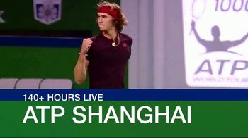 Tennis Channel Plus TV Spot, 'ATP Shanghai' - 21 commercial airings