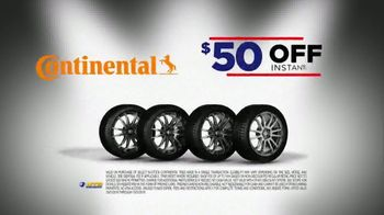 National Tire & Battery Big Brands Bonus Month TV Spot, 'Continental Tires and Rebate' - Thumbnail 3