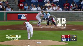 MLB Statcast TV Spot, 'Who? What? How?' Song by AC/DC - 190 commercial airings