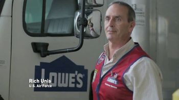 Lowe's TV Spot, 'Military Roots: Thank You' - Thumbnail 5