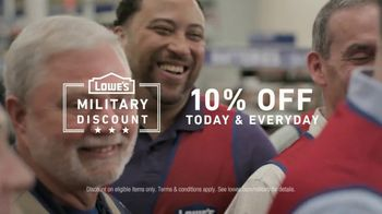 Lowe's TV Spot, 'Military Roots: Thank You' - Thumbnail 8