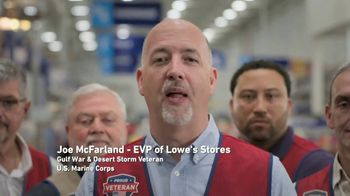 Lowe's TV Spot, 'Military Roots: Thank You' - Thumbnail 9