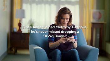 Metro by T-Mobile TV Spot, 'Scoop: A Woj Story' Featuring Adrian Wojnarowski - Thumbnail 9