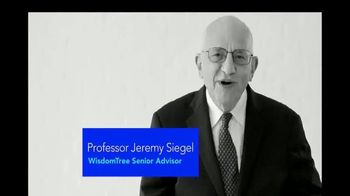 WisdomTree Modern Alpha ETFs TV Spot, 'Professor Jeremy Siegel'