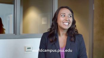 Pennsylvania State University World Campus TV Spot, 'Possibilities: Alicia' - Thumbnail 9