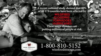 Wise Company TV Spot, 'Mega Disasters' - Thumbnail 1